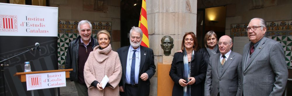 L'IEC commemora el cent cinquantè aniversari del naixement de Pompeu Fabra